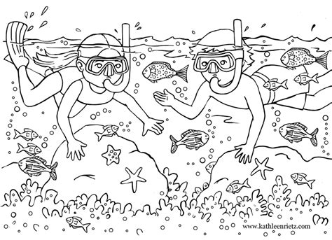 Summer Fun Coloring Pages To Download And Print For Free