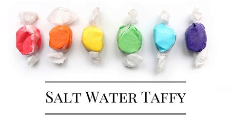 How Is Salt Water Taffy Made?