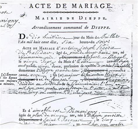 exemple acte de mariage quiquengrogne 224 dieppe le nouveau remorqueur alb 226 tre