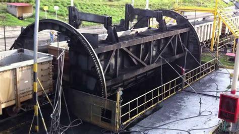 Coal Car Dumper heyl patterson single coal rail car dumper santa