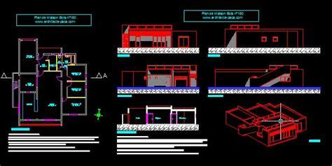 plan de maison plain pied 4 chambres avec garage plan maison bois plain pied 160 villad 39 architecte 160