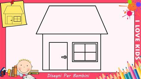 Disegnare Casa disegno casa per bambini ze51 187 regardsdefemmes
