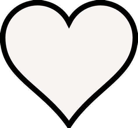 heart outline clip art  clkercom vector clip art  royalty  public domain