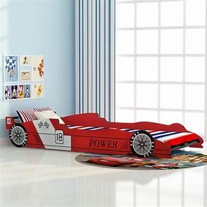 Kinderbett 90x200 Auto : der vidaxl kinderbett rennwagen 90x200 cm rot online shop ~ Frokenaadalensverden.com Haus und Dekorationen