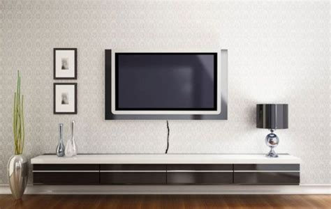 Kitchen Molding Ideas - wall shelves floating shelves under wall mounted tv floating shelves under wall mounted tv
