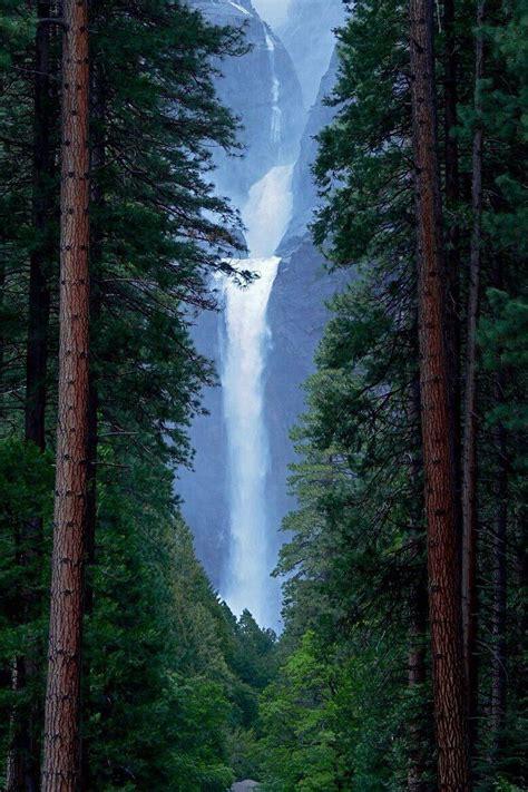 Lower Yosemite Falls Usa Joseph Urgo Sacred Inner