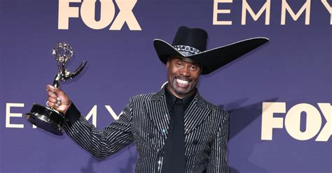 Billy Porter Emotional Reaction His Emmy Win