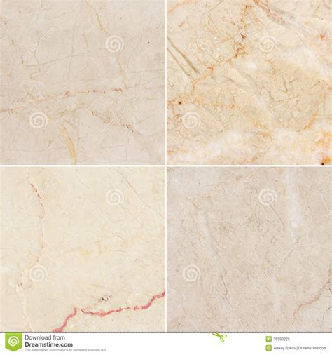 four different texture of a light marble high res