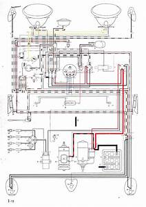 Thesamba Com Beetle Oval Window 1953 57 Wiring Diagram