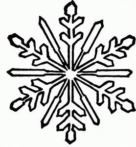 Printable Snowflake Coloring Pages - Coloring Home