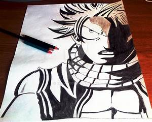 Natsu angry drawing by kenvo on DeviantArt