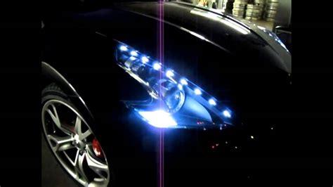370z Lights by Nissan 370z Custom Led Drl Headlight By Jlc Lighting
