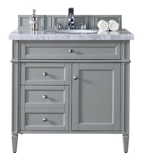 36 quot single bathroom vanity gray gray