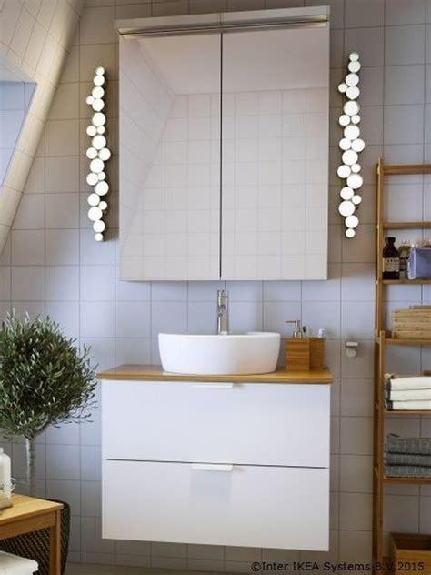 ikea bathroom lighting ideas  inspiration hunker