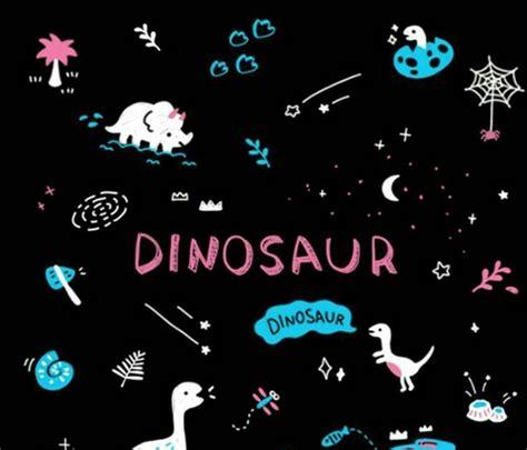 aesthetic black iphone dinosaur wallpaper