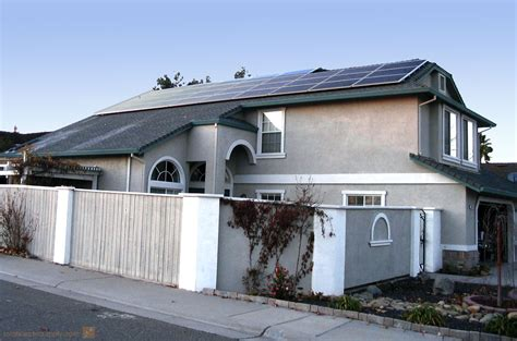 kw home composition roof solar system roseville ca