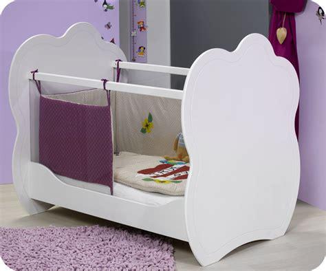 chambre bébé promo mini chambre bébé altéa blanche avec plan à langer
