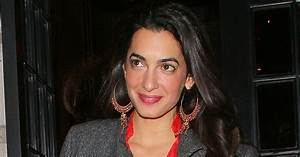 Facts And Bio George Clooney's Fiancee Amal Alamuddin ...