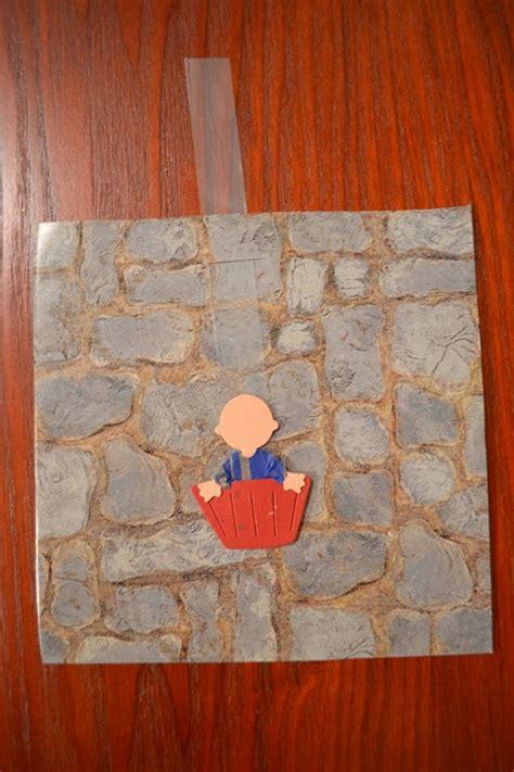 bible class creations saul  lowered   wall