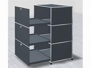 Meuble à Cases : meuble usm 3 cases adopte un bureau ~ Teatrodelosmanantiales.com Idées de Décoration