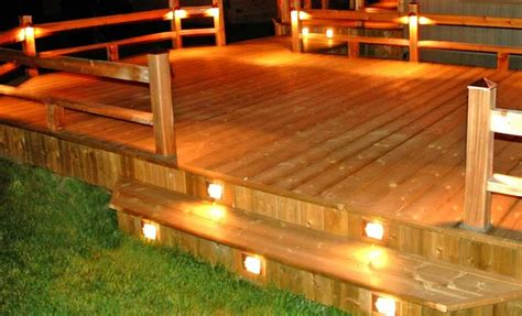 deck lighting unlimited deck design ideas outdoor deck lighting ideas to choose from