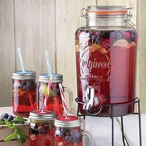 Distributeur Boisson Verre : distributeur de boissons en verre 5 litres kilner cuisin 39 store ~ Teatrodelosmanantiales.com Idées de Décoration