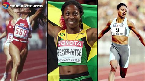 In the 200m, richardson ranks third in the world this year and first among americans (22.11). The story of Shelly-Ann Fraser-Pryce - YouTube