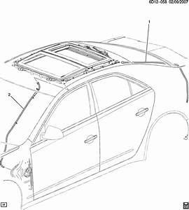 Cadillac Cts Sunroof Drain