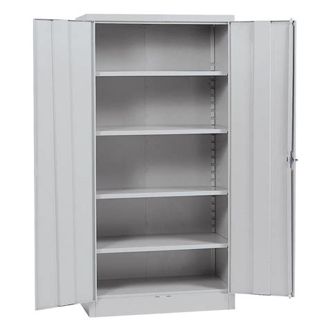 Metal Storage Cabinets Home Depot by Sandusky Classic Series 72 In H X 36 In W X 18 In D