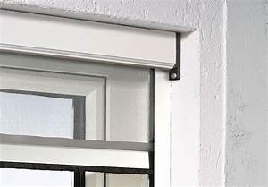 Moustiquaire Enroulable Recoupable L150 Cm X H215 Cm Blanc