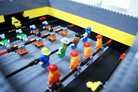 mini lego table auto scoring mini lego foosball table gadgetsin
