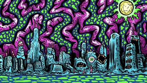 Rave Life: Get Lost in the Trippy Art of Luis Colindres