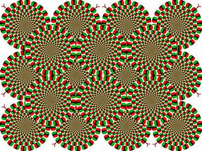 Snakes Rotating Jp Background Change Illusion Induced