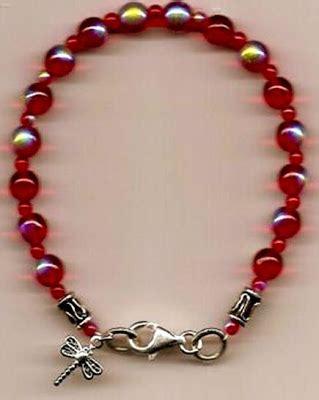 medusa pro ana pro mia  red blue bracelets
