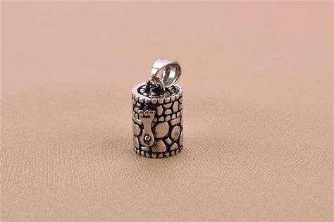 wholesale openable ashes box pendant urn chain vintage