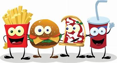 American Diet Standard Charts Fast Foods Simple