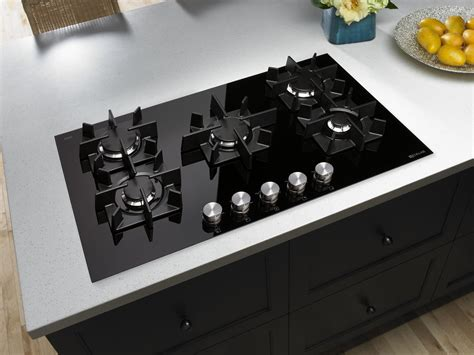 glass burner gas cooktop  residential pros