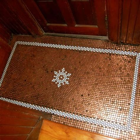 tile your floor with pennies floor obsessed the deadly nightshade