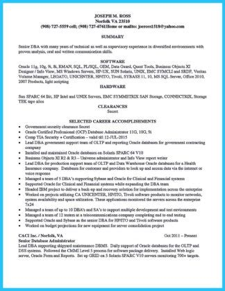 Dba Manager Resume by High Impact Database Administrator Resume To Get Noticed