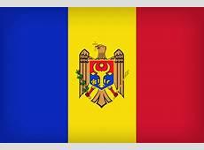 Moldova Large Flag Gallery Yopriceville HighQuality