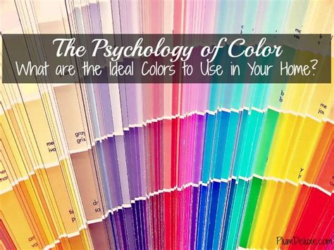 house paint color theory the psychology of color what are the ideal colors to use