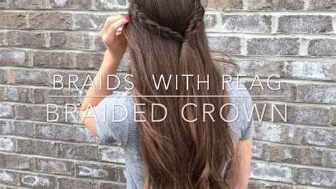 Hair Tutorial- How To Half Up Braided Crown (simple) Side Quiff Hairstyle Female Yorkie Haircut Pictures Low Maintenance Haircuts Male Asian Bridesmaid Hairstyles Chignon With Short Curls How To Fix A Bad Mens Medium Length Layered Blonde Highlights Finder