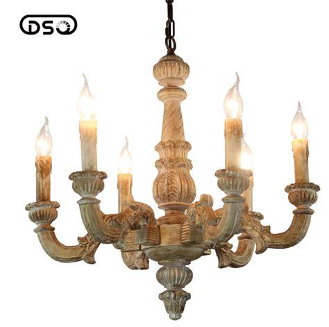vintage amercian rustic wooden chandelier l living