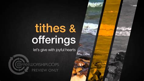 slices  heaven tithes  offerings bumper video youtube