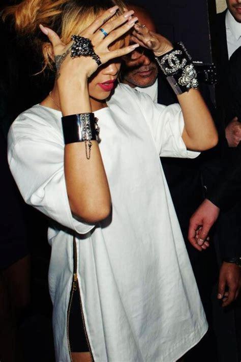Trendy Celebrity Double Side Slits Split Long T Shirt Maxi