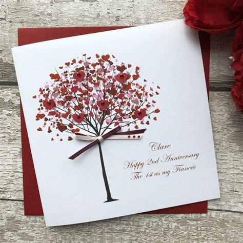 Handmade Personalised Anniversary CardsPink & Posh