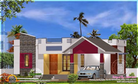 Home Design 900 Square Feet : 900 Square Feet 2 Bedroom Modern Home Design And Plan