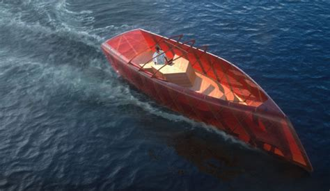 Boat Hull Anatomy by Leaf Pleasure Boat Was Inspired By The Anatomy Of Leaves