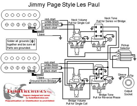 Emg Le Paul Wiring Diagram by Les Paul Emg Jimmy Page Wiring Ultimate Guitar