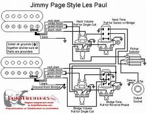 Les Paul Emg  U0026 39 Jimmy Page U0026 39  Wiring